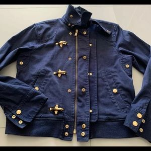 Ralph Lauren denim jacket/ size P/L or regular M